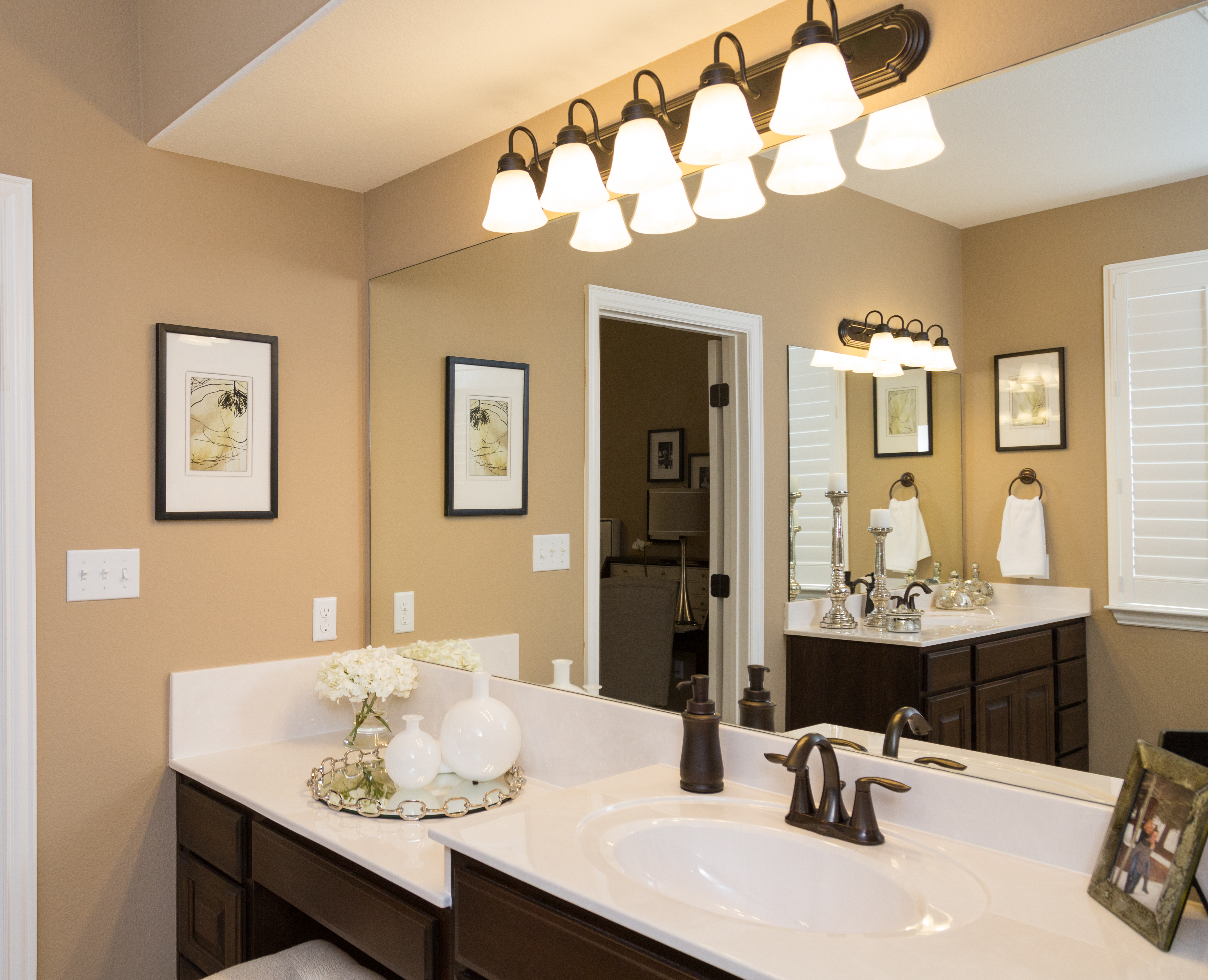 Master Bath Highland Homes Model. Lake Travis November New Home Tour  Builder Boost